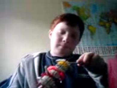 boy shoots his own head with toy gun