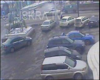 baby's pram hit by a car