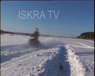 snowmobile crash – no sound