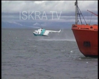 sea rescue goes wrong, helicopter sinks