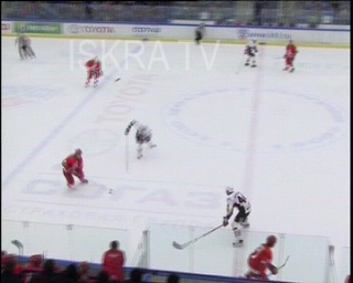 ice hockey mass fight