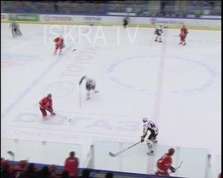 ice hockey mass fight