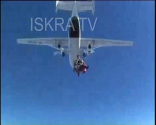 tandem parachute jump goes wrong