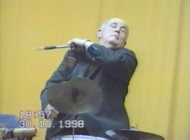 Performing Drummer