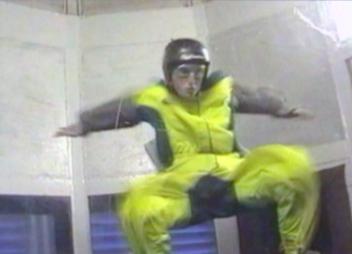 Simulation of free fall