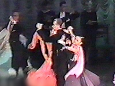 Ballroom dancers in various dilemmas