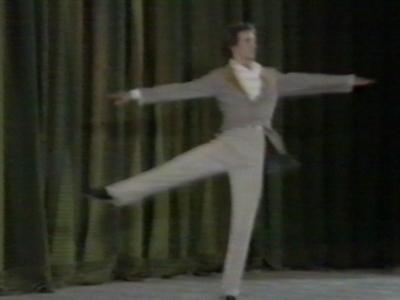 Various clips of ballet dancing